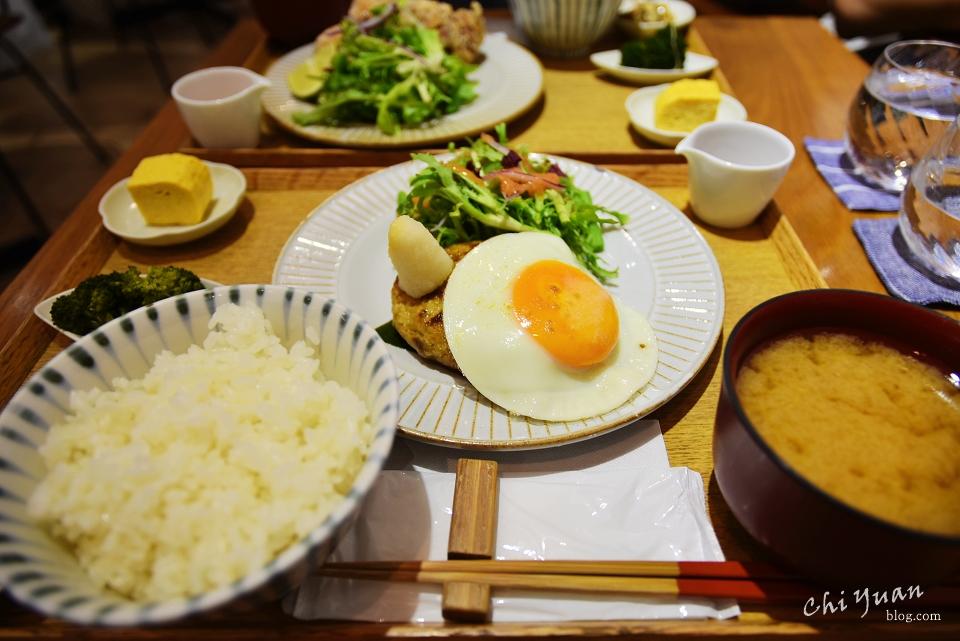 [台北]華山小器食堂。日式家庭精緻定食,搭配日式器皿擺盤