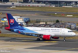Slovak Government A319-100 OM-BYK