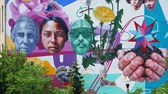 - Mural Chicago's 606 - (Jacqueline ter Haar) Tags: the606 chicago mural theconagrabrandsmural jeffzimmermann wickerpark bucktown