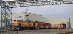 Industrial Switching (Memphis302) Tags: gmtx 396 fglk westrock boxcars