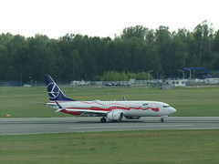Boeing 737-8 MAX, SP-LVB, Polish Airlines LOT (transport131) Tags: samolot airplane waw boeing 7378 max splvb polish airlines pll lot