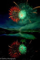 Happy Independence Day (OJeffrey Photography) Tags: estespark fireworks independenceday july4th celebration reflection night sky lakeestes ojeffrey ojeffreyphotography jeffowens nikon d800