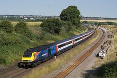 43467 05-07-18 (IanL2) Tags: eastmidlandstrains intercity125 hst class43 wellingborough northamptonshire 43467 railways trains mml