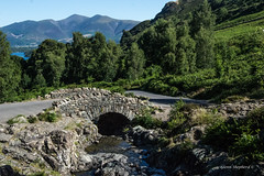 Over The Bridge (Glenn Shepherd) Tags: ashness keswick landscapes lakedistrict lakes cumbria view woodland mountains