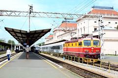 Croatian Railways 1142 012 (ARDcoasters) Tags: zagreb electric locomotive railway station croatia hz yugoslavia europe