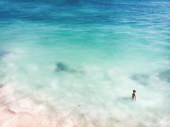 Sea View (davе) Tags: madagascar africa 2018 sea coast water ankasy person swim blue beach aerial drone mavic air tulear wave sand