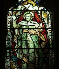 St. Mary's Church, East Knoyle, Wiltshire (Living in Dorset) Tags: stainedglasswindow churchwindow church stmaryschurch eastknoyle wiltshire england uk gb
