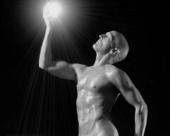 Captured Light (Avid Light [model]) Tags: male model fineart nude bodypaint feelingsemotions