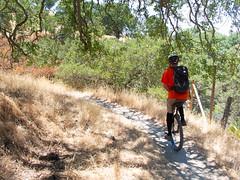 Buckeye Trail (Tom Holub) Tags: mountdiablo mountainunicycling muni