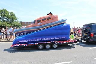 Inflatable replica of RNLI Shannon Lifeboat