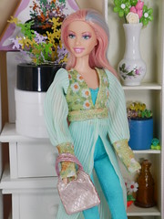 colorful barbie hippie (2) (modcasey) Tags: barbie hippie dolls for photo challenge divas theme