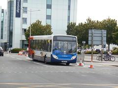 Stagecoach in South Wales 27687 (Welsh Bus 18) Tags: stagecoach southwales cummins adl enviro300 27687 cn60cve hemingwayroad cardiffbay nationaleisteddfod2018 b42f