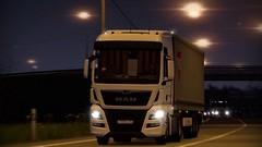 MAN (Alex Yatsyk) Tags: man truck krone trailer screen screenshot game ets2
