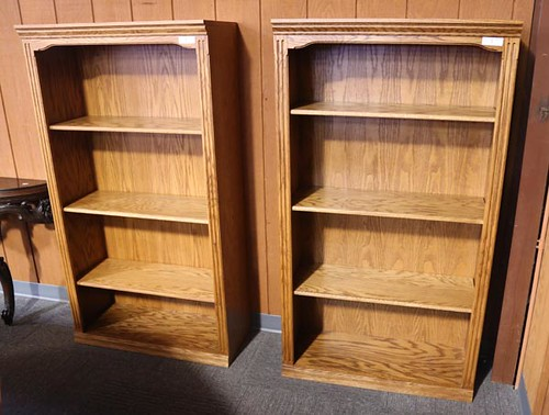 House of Oak Tall Bookshelf ($246.40 each)