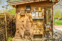 Wild bees hotel (a7m2) Tags: wildbienen natur fauna nützlinge besucher gärtner tulln loweraustria danube