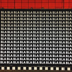 bla.bla.bla (hoffi99) Tags: hamburg underground advertising hoffi99
