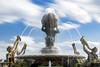 The Atlas fountain (»WOLFE«) Tags: atlas atlasfountain fountains castlehoward statelyhomes nikon nikond600 d600 brideshead bridesheadrevisited countryhouse waterfeatures greekmythology fountain ornament 2018 longexposure water neutraldensityfilter circularpolariser circularpolarizer