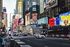 No Title (PAJ880) Tags: times sq nyc neon leds signs traffic tourists manhattan new york city
