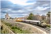 Un histórico diferente (440_502) Tags: 310 012 adif servicios logísticos alsa ferrocarril tren azul azaft asociación zaragozana de amigos del casetas cariñena