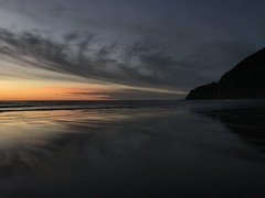 Oregon coast (RaminN) Tags: pacificnorthwest ocean sunset beach manzanita coast oregon neahkahnie