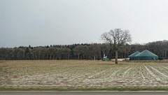 - (txmx 2) Tags: landscape snow winter tree silo schleswigholstein driveby