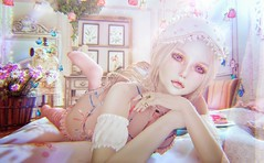838 (♥ Nekotto ♥) Tags: theepiphany pinklion candydoll collabor88 monso moonamore fancydecor milkmotion theseasonsstory silveryk cureless laq anatomy zenith omen mikunch