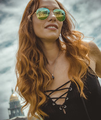 Top of her Game (Luv Duck - Thanks for 13M Views!) Tags: ali redhead beautifulgirl denvermodels redhair girlwithglasses lace modeling denvercapitol saturdayinthepark downtowndenver