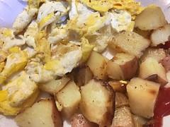 Everything is FOOD! - Marketplace Breakfast! (Polterguy30) Tags: ketchup homefries scrambledeggs eggs breakfast food