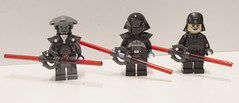 Red Blades (Ben Cossy) Tags: eighth fifth brother seventh sister star wars rebels inquisitors sith force lightsaber empire afol tfol moc minifigure