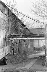 Lawrence MA_film-24 (them_cairo_doors) Tags: film bw manual minolta minoltax700 architecture mill abandoned