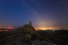 Brentor Milky Way (Frosty__Seafire) Tags: milky way night dartmoor sky stars church landscape nightscape d7000 long exposure sigma 1020
