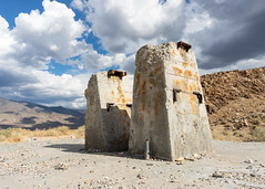 Pillars (dwblakey) Tags: chalfant desert bishop monocounty junk clouds california mining easternsierra ruins quarry outdoors history concrete volcanictableland volcanictablelands cement unitedstates us