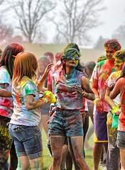 Holi Festival (Ray Cunningham) Tags: asha uiuc holi festival india color colour university illinois spring