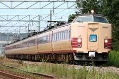 485系 特急 雷鳥 (TKG's Train Photo Album) Tags: 485系 雷鳥 特急雷鳥 クハ481800番台 北陸本線 特急列車 jr西日本 鉄道 鉄道写真