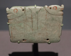 IMG_1728 (jaglazier) Tags: 200600 200ad600ad 2018 32518 animals apotropaic archaeologicalmuseum artmuseums cerrodelasmesas crafts goldenkingdomsluxuryandlegacyintheancientamericas gravegoods jewelry march maya mayan mesoamerican metropolitanmuseum mexican mexico mexicocity museonacionaldeantropologia museums newyork precolumbian religion reused rituals semipreciousstones specialexhibits stoneworking usa veracruz archaeology art burialgoods copyright2018jamesaglazier engraved funerary incised jadeite mythical plaques sculpture unitedstates