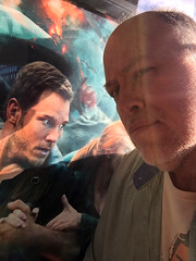 Day 2362: Day 172: More movie fun with the gang (knoopie) Tags: 2018 june iphone picturemail doug knoop knoopie me selfportrait 365days 365daysyear7 year7 365more day2362 day172 chrispratt jurassicworldfallenkingdom ipictheater movie