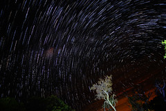 20 minutes startrails (tdwrsa) Tags: canoneos70d efs1018mmf4556isstm startrails stars bateleurnaturefreserve