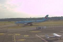 Korean Air Airbus A330 HL8228 charter Basel EuroAirport Airport webcam capture (AirportWebcams.net) Tags: korean air airbus a330 hl8228 charter basel euroairport airport webcam capture bsl lfsb