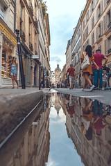 Le Marais (Nicolas Jehly Photographie) Tags: marais french france puddle people street parisian paris
