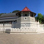 Temple of the Tooth Buddhist temple in the city of Kandy, Sri Lanka. thumbnail