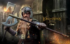 gimli_003 (siuping1018) Tags: asmustoys thelordoftherings gimli siuping photography actionfigures onesixthscale toy canon 5dmarkii 50mm