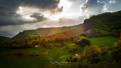 Paysage du Cantal (Gilles Bourdreux Photography) Tags: sunset sun soleil sky landscape lumières mountain montagne mont rocks rochers paysage ciel champs campagne cantal france forêt auvergne travel voyage vallée nikon nuages nature d610 blending