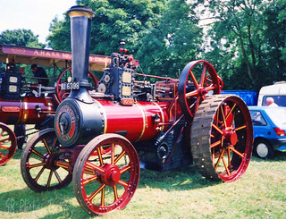 Burrell Devonshire Traction Engine