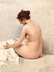 """Sorolla. La mujer del pintor. Una pieza de arte. Tesoro #7 (JSG67) Tags: """"museosdemadrid"""" madrid sorolla """"unapiezadearte"""" """"labúsquedadeltesoro"""" juegolvm"""