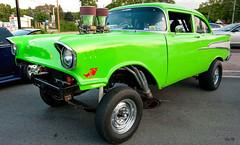 Kermit... (Stu Bo) Tags: canon certifiedcarcrazy coolcar dreamcar gasser hangingoutwiththefamily hotrod horsepower green chevypower