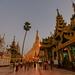 Evening at Shwedagon Pagoda