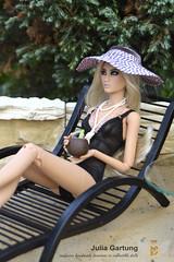 FS The most summer furniture))) Chaise lounge! (JuliaGart) Tags: scale 14 fs furniture for doll julia gartung duchess devadolls kd kingdomdoll sybarite numina