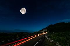 101OC6282018-2 (Ranbo (Randy Baumhover)) Tags: oregon oregoncoast pacificocean stars moon hwy101