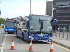Mercedes-Benz Citaro 0.295 Demonstrator (Cardiff Bus 779) BN17 JVC (Welsh Bus 18) Tags: mercedesbenz citaro 0295 k 105metre demonstrator cardiffbus 779 bn17jvc cardiffbay nottinghamcitytransport 110 lothian 298 jmbtravel