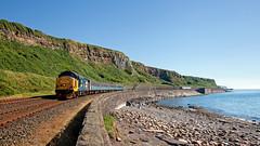 Guest Appearance (Richie B.) Tags: 2c33 2c36 parton cumbria arriva northern trains drs direct rail services english electric british class 37 37402